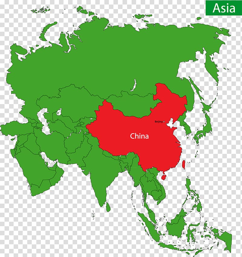 East Asia Western Asia Map , China\'s position in Asia, a.