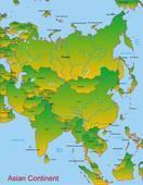 Asia continent clipart 2 » Clipart Portal.