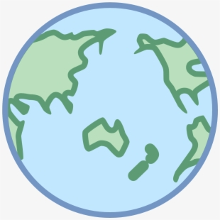 Earth Clipart Asia Png.