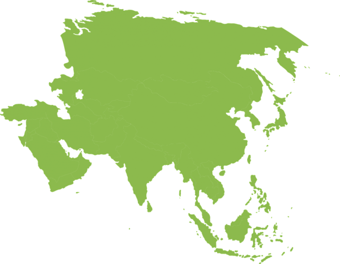 Asia Map Vector Png Vector, Clipart, PSD.