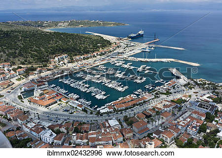 "Stock Images of ""Cesme, marina, Western Turkey, Izmir Province."