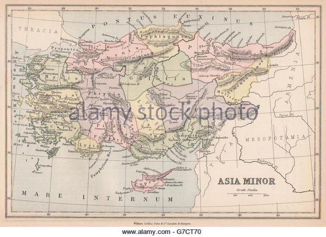 Ancient Map Asia Minor Stock Photos & Ancient Map Asia Minor Stock.