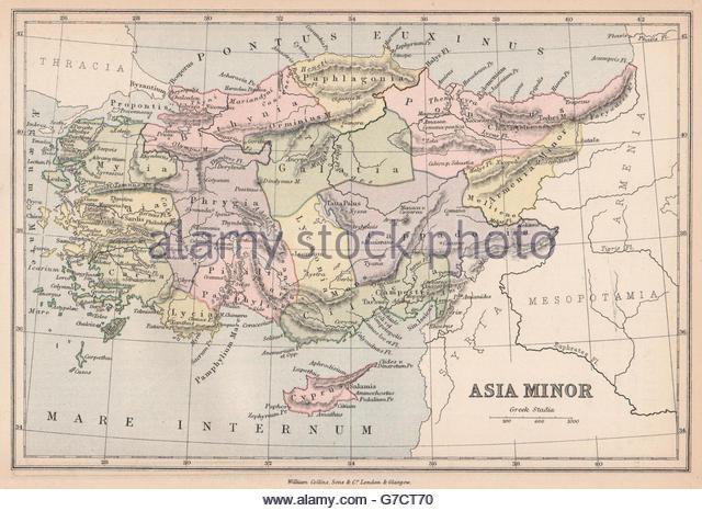 Ancient Map Asia Minor Stock Photos & Ancient Map Asia Minor Stock.