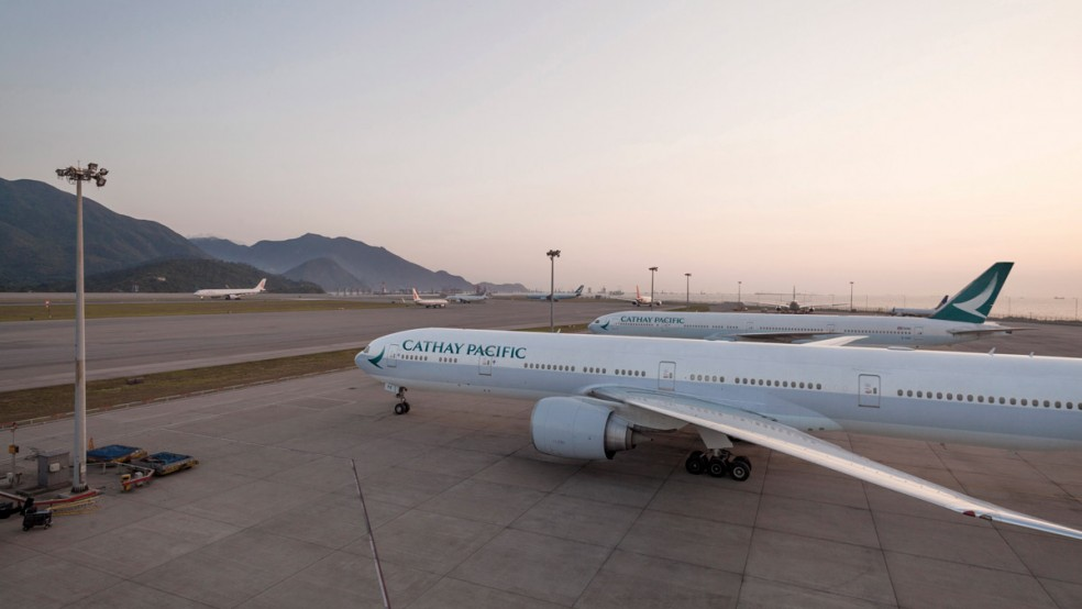 Cathay Pacific 5.