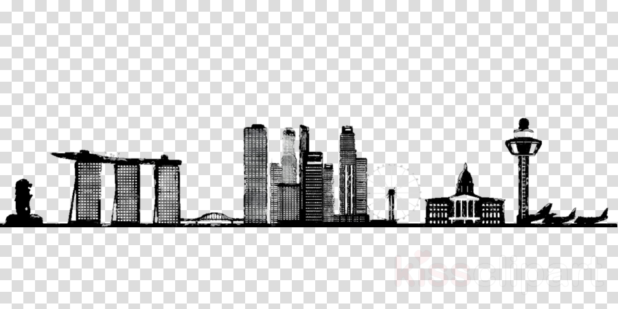 City Skyline clipart.