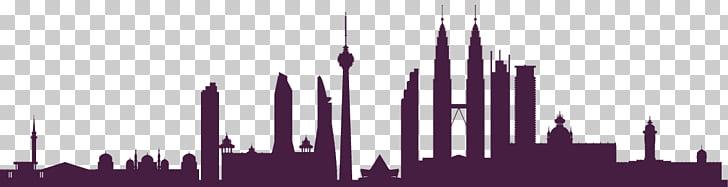 Wangsa Maju Skyline , asia landmark PNG clipart.