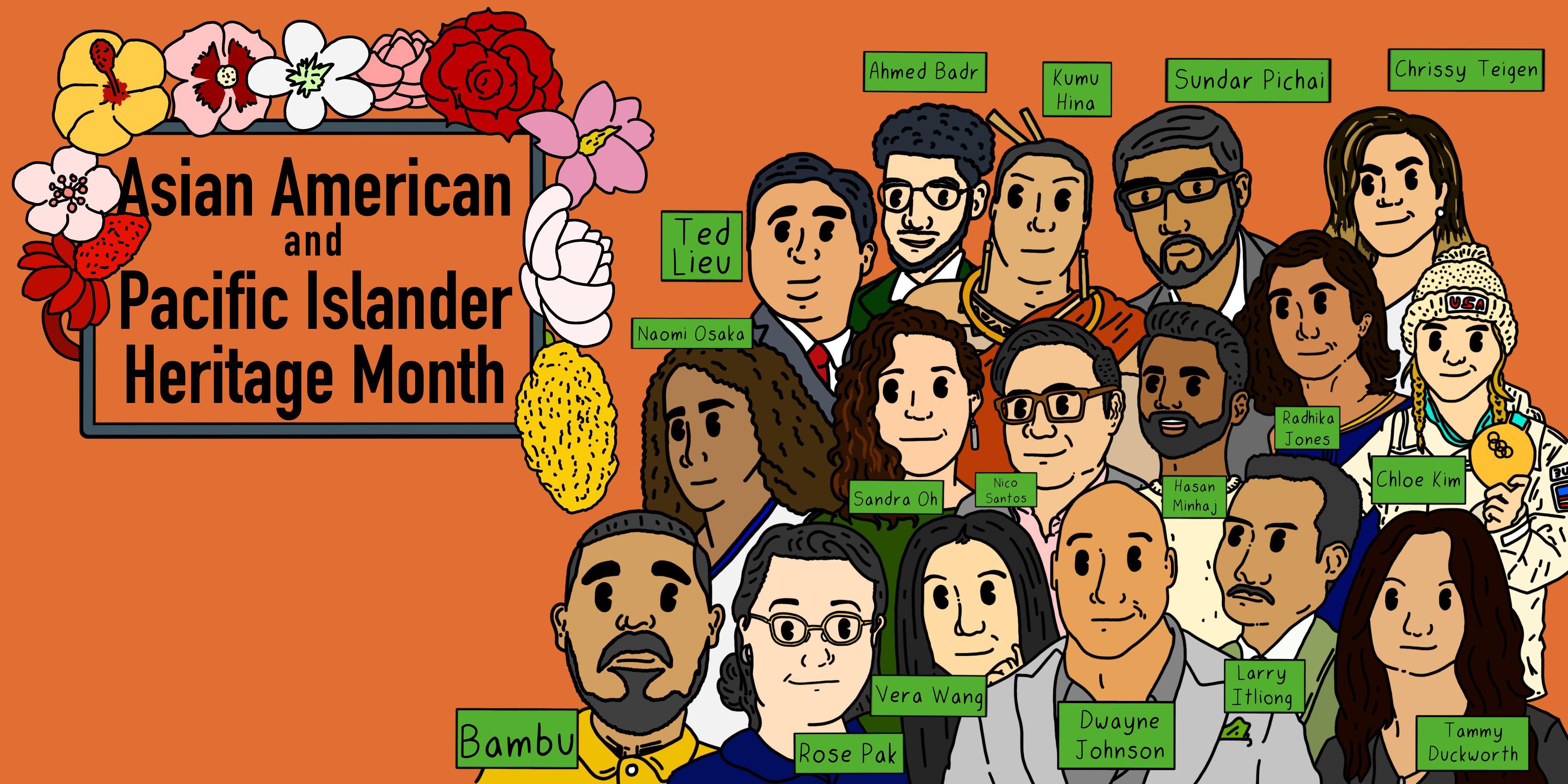 Celebrating Asian American & Pacific Islander Heritage.