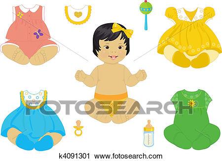 Asian baby.