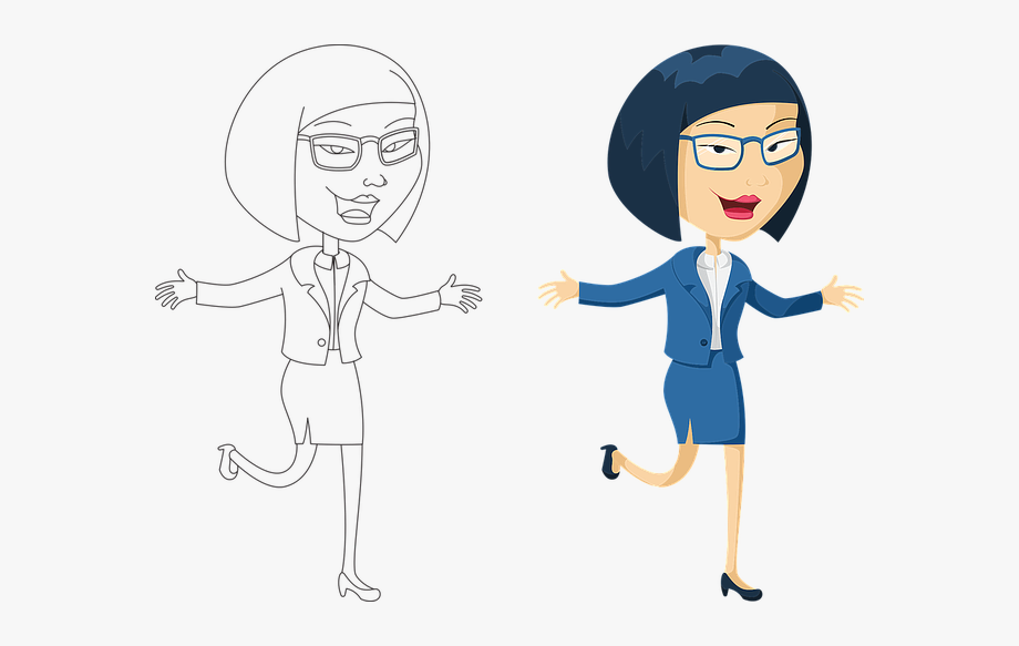 Businesswoman Clipart Money.