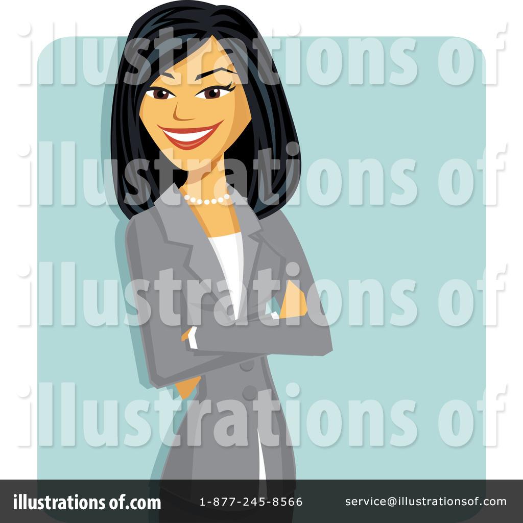 Asian Businesswoman Clipart #1106814.