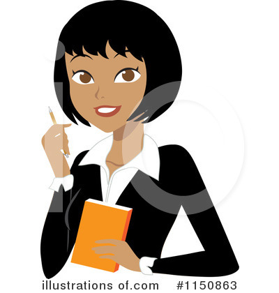 Asian Businesswoman Clipart #1106817.