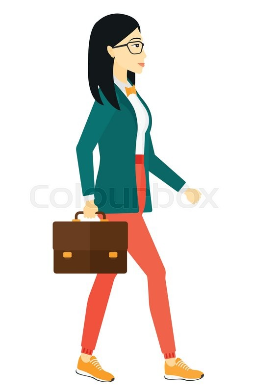 534 Briefcase free clipart.