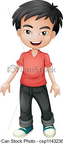 Asian child clipart #16