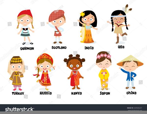 Clipart Children Asia.