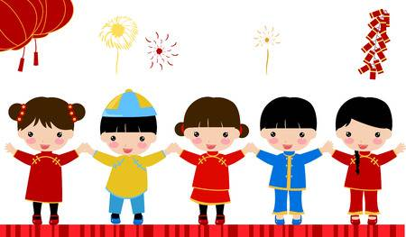 8,469 Chinese Children Stock Illustrations, Cliparts And Royalty.