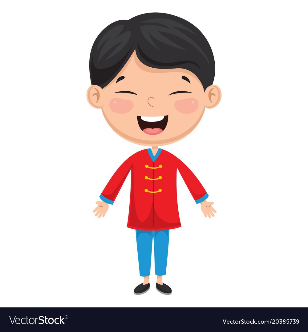 Chinese kid.