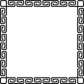 , blank, border, fancy, frame, asian, southwest, square, Clip Art.