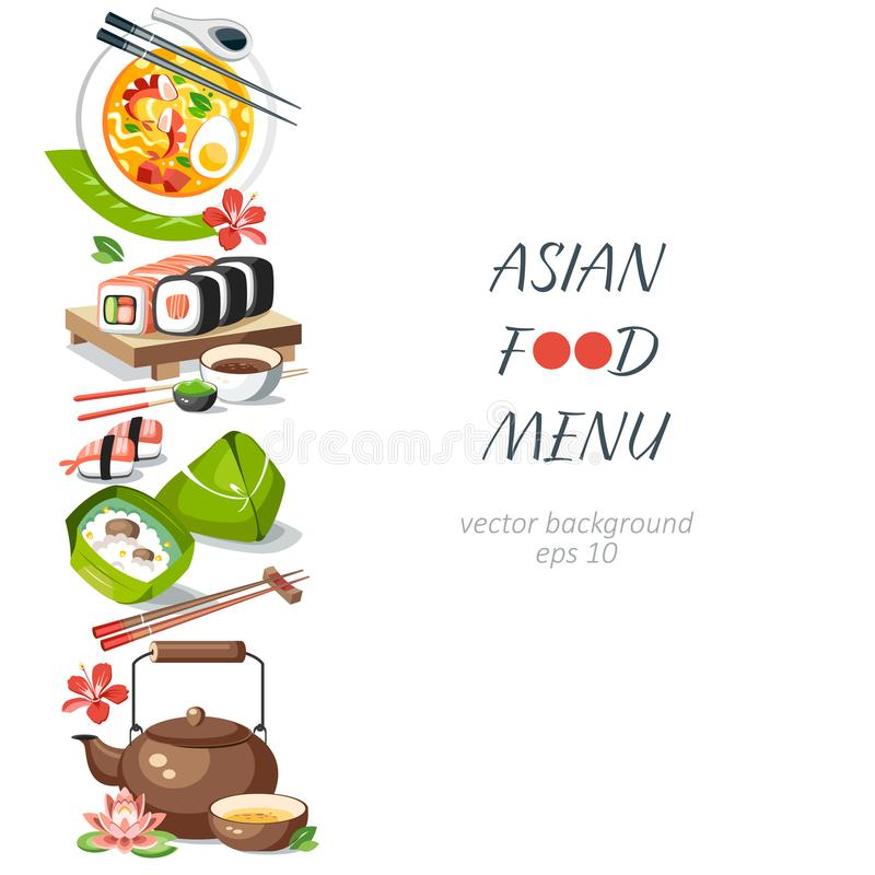 Asian Border Stock Illustrations.