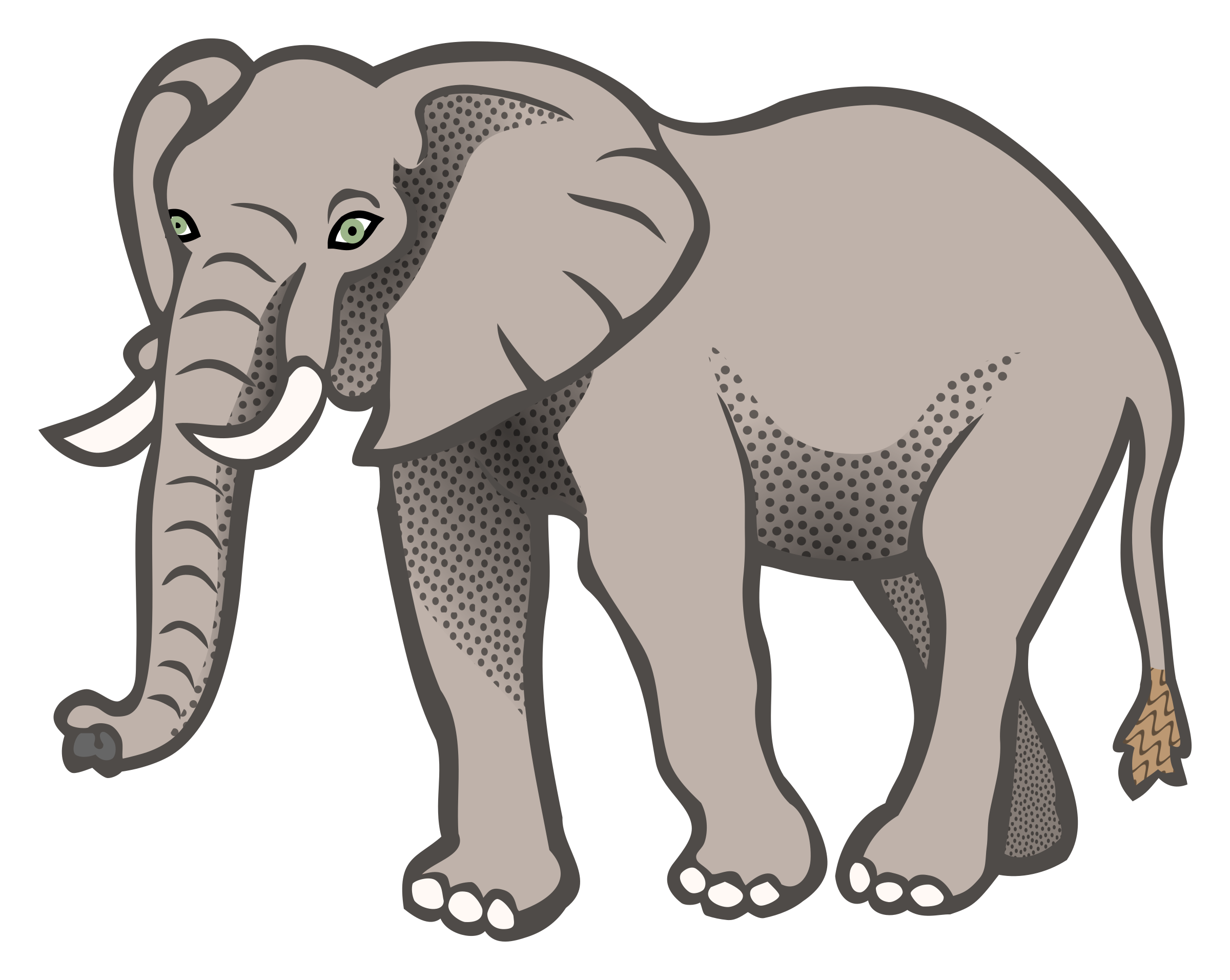 Asian elephant African bush elephant Clip art.