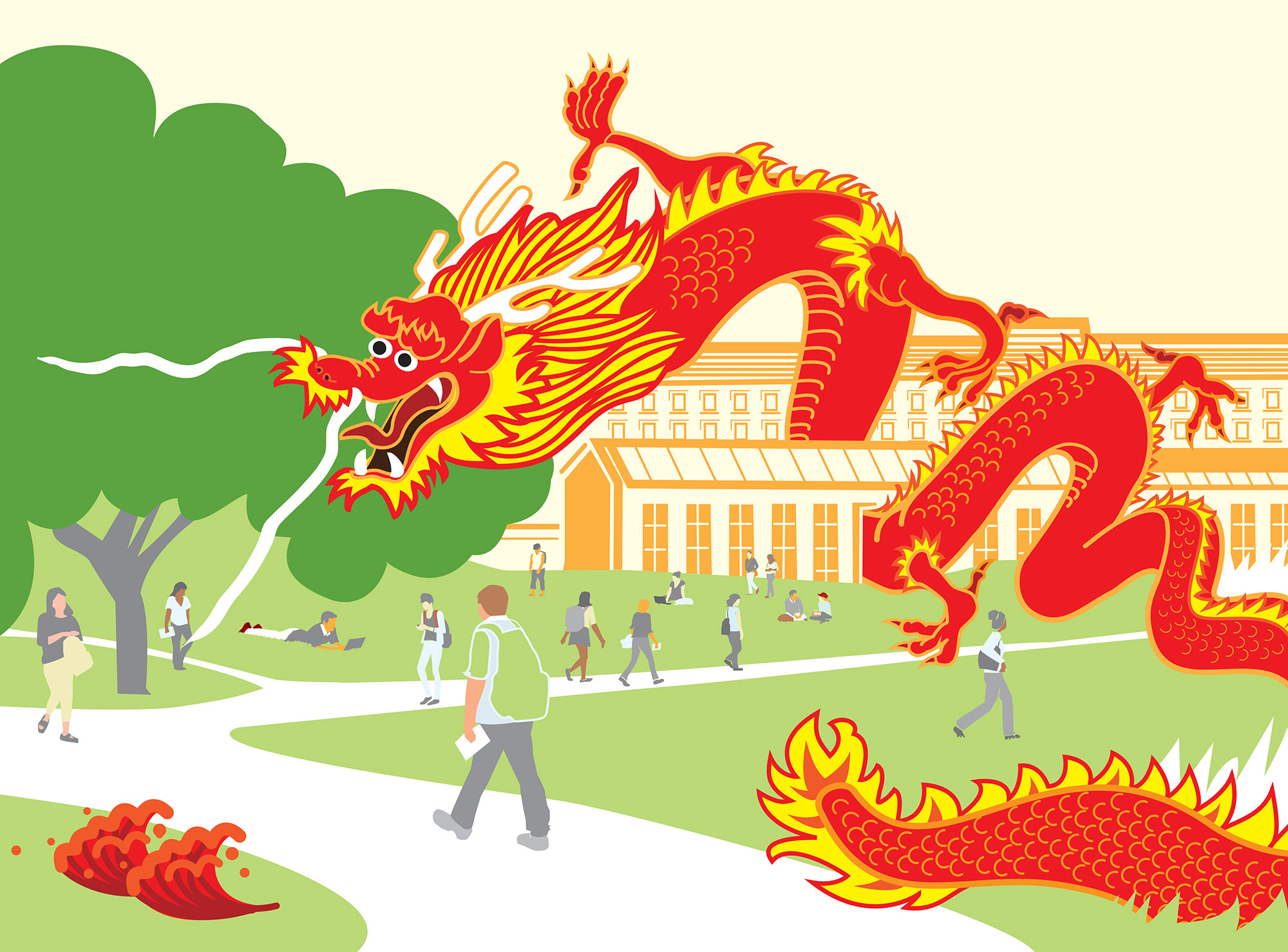 China\'s Long Arm Reaches Into American Campuses.