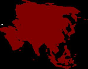 Asian Continent Clip Art at Clker.com.