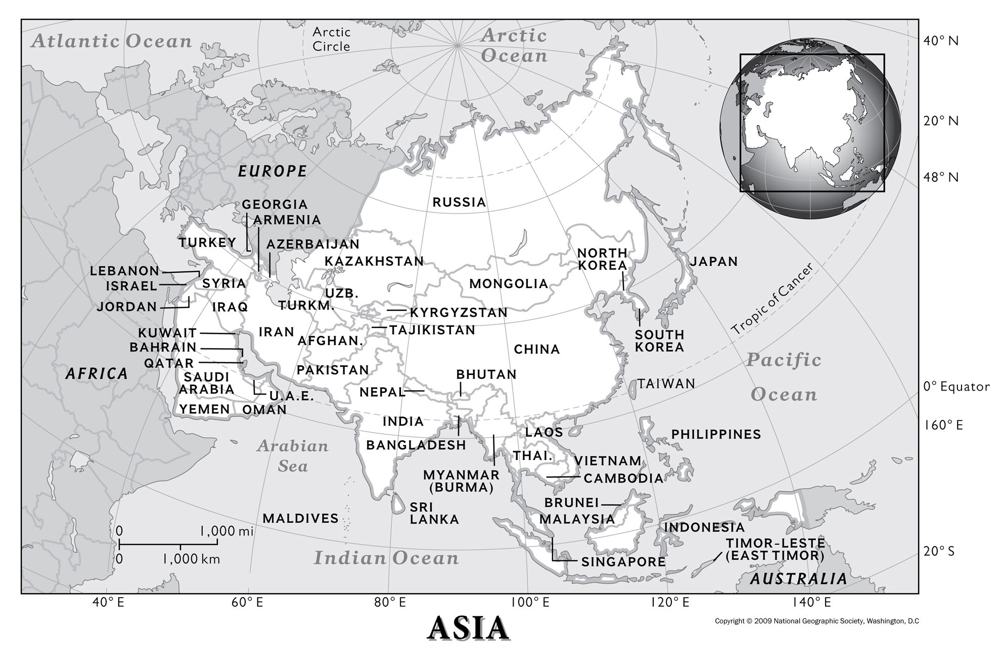 Asia: Resources.