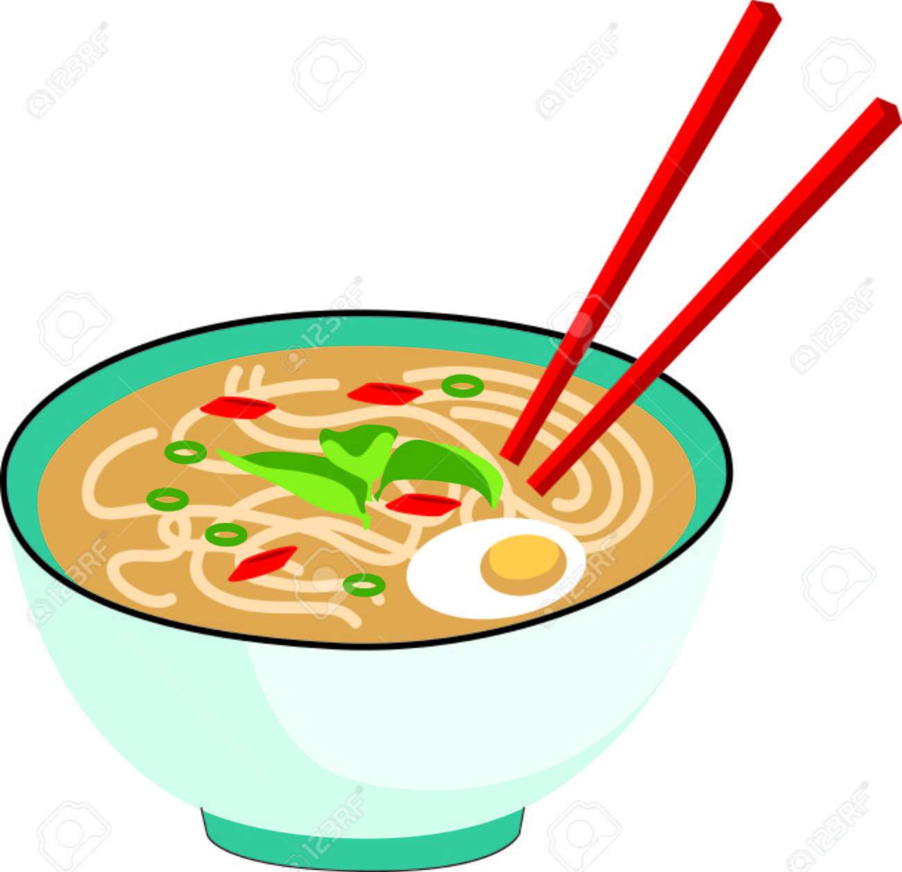 325 Chinese Food free clipart.