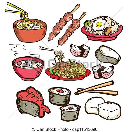 Asian food Illustrations and Clip Art. 13,316 Asian food royalty.
