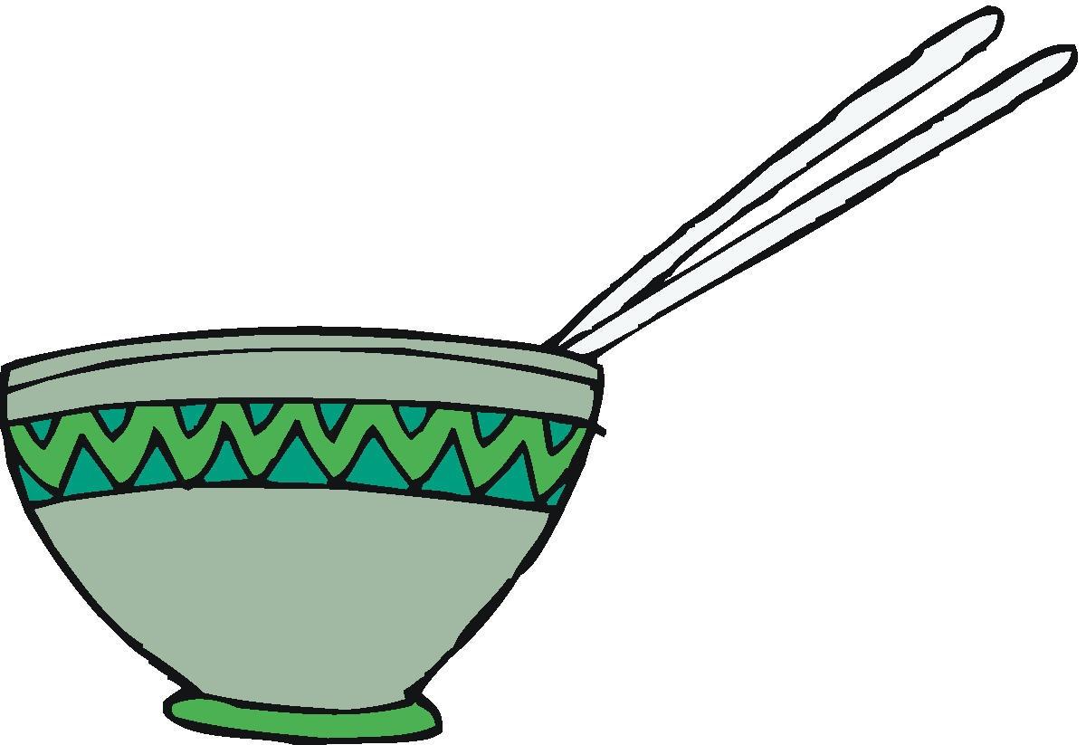 Asian Food Clip Art.
