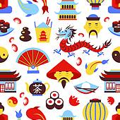 Chinese culture clipart.