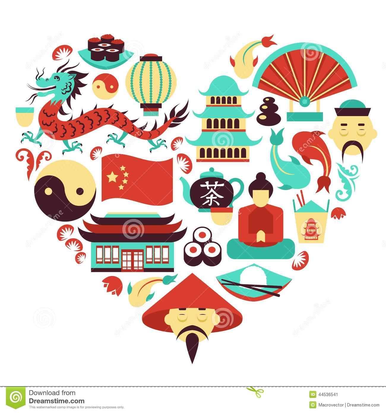 Asian Culture Clipart.
