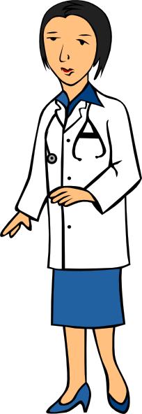 Asian Doctor Clipart.