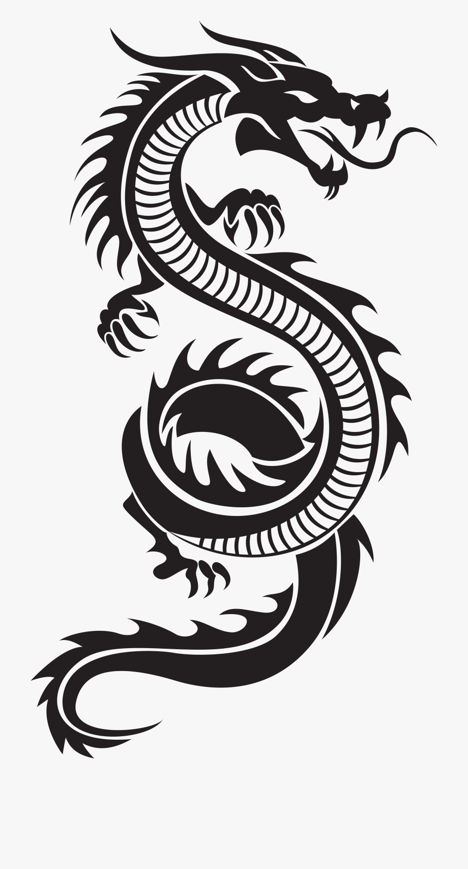 Chinese Clipart Dragon.