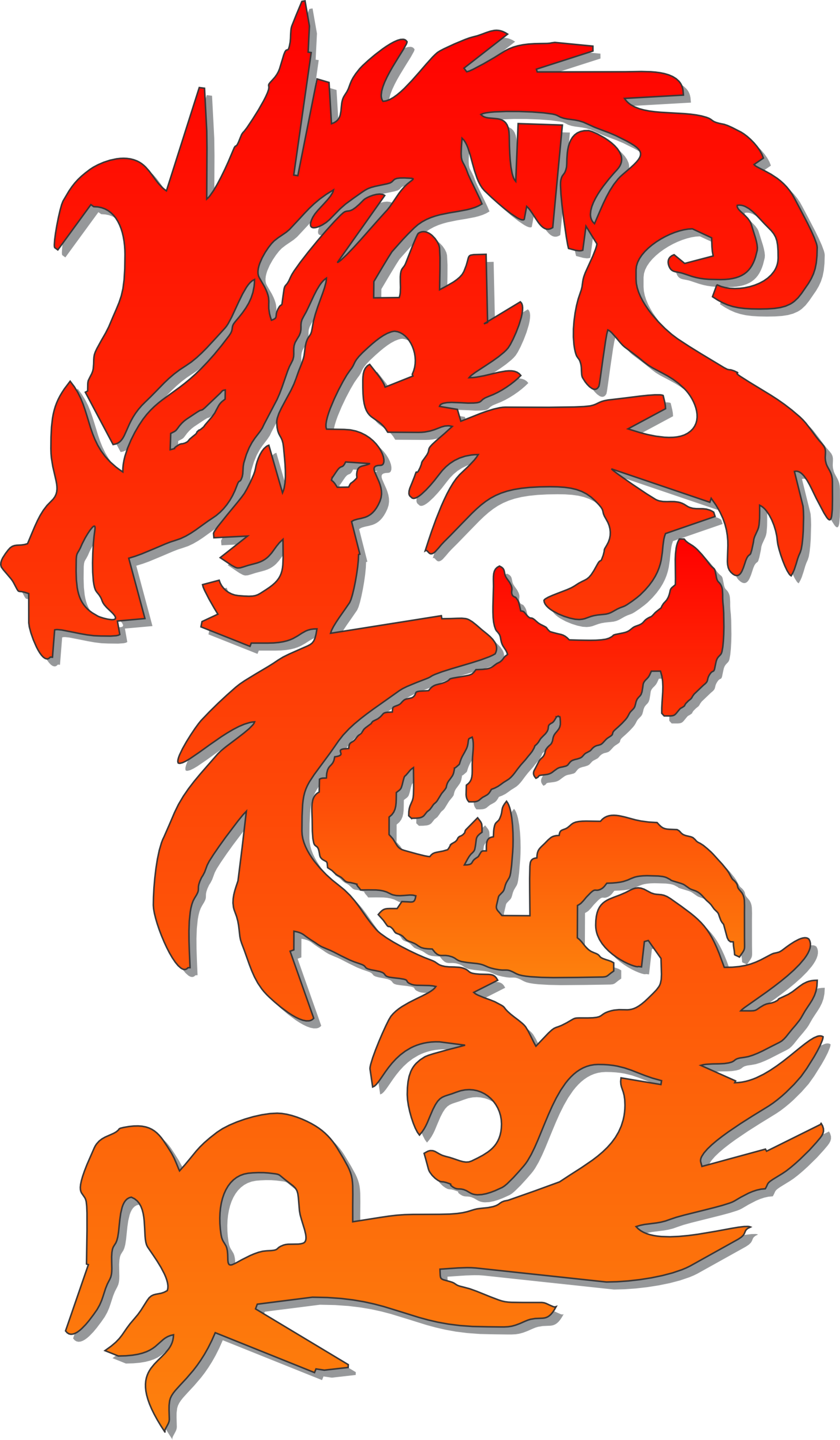 Chinese Dragon clipart chinese calendar #1.