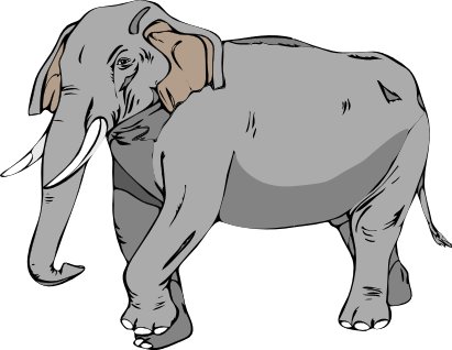 Free Asian Elephant Clipart, 1 page of free to use images.