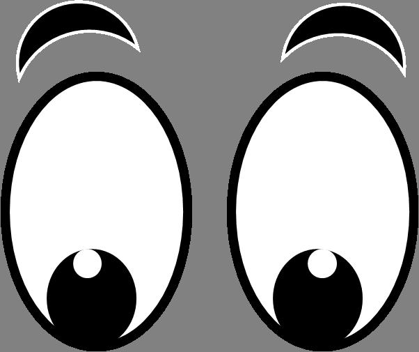 Happy Eyes Clipart.