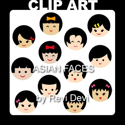 Asian clipart asian face, Asian asian face Transparent FREE.