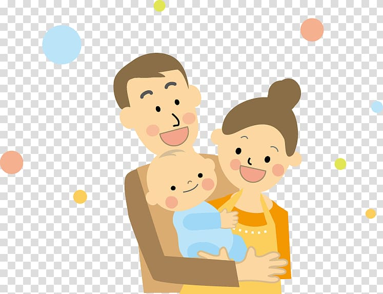 育児 Infant Parental leave Parenting Birth, asian family.