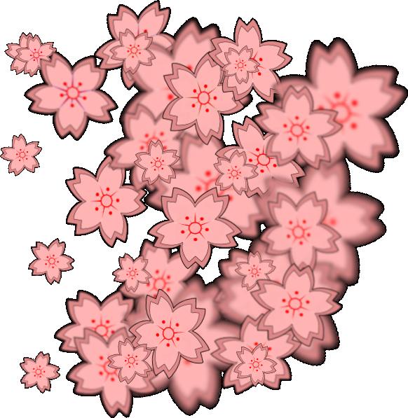 Asian Flower Design Clip Art at Clker.com.