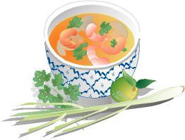 Food Clip Art: FoodShapes Asian Foods 1 Images CD.