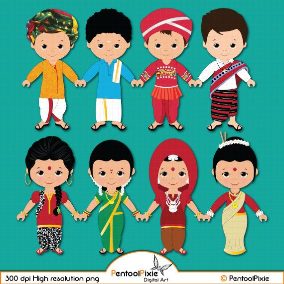 Friends clipart ethnic, Friends ethnic Transparent FREE for.