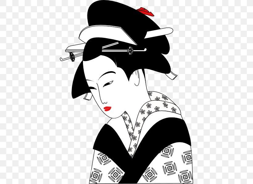 Geisha Art, PNG, 432x597px, Geisha, Art, Artist, Black And.