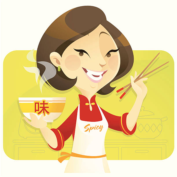 Asian clipart mum, Asian mum Transparent FREE for download.