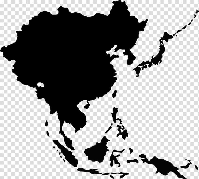 Asia map illustration, Southeast Asia South China Sea United.