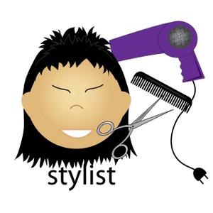 Asian Hair Stylist.