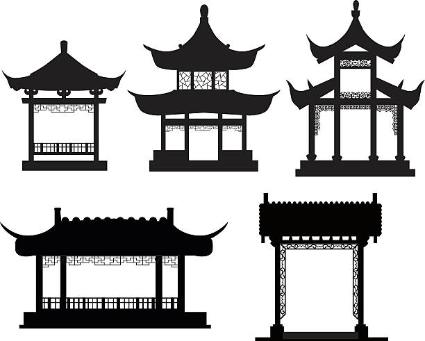 Japanese House Clipart.