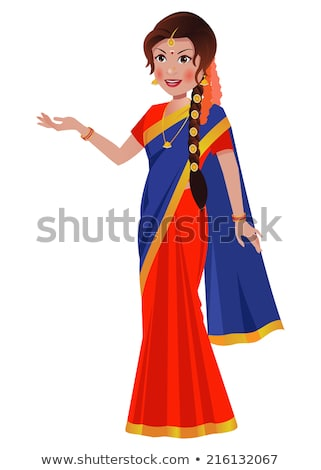 Vector Images, Illustrations and Cliparts: South Asian/ Indian woman.