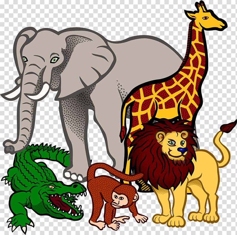 Fauna of Africa Baby Jungle Animals , rhino transparent.