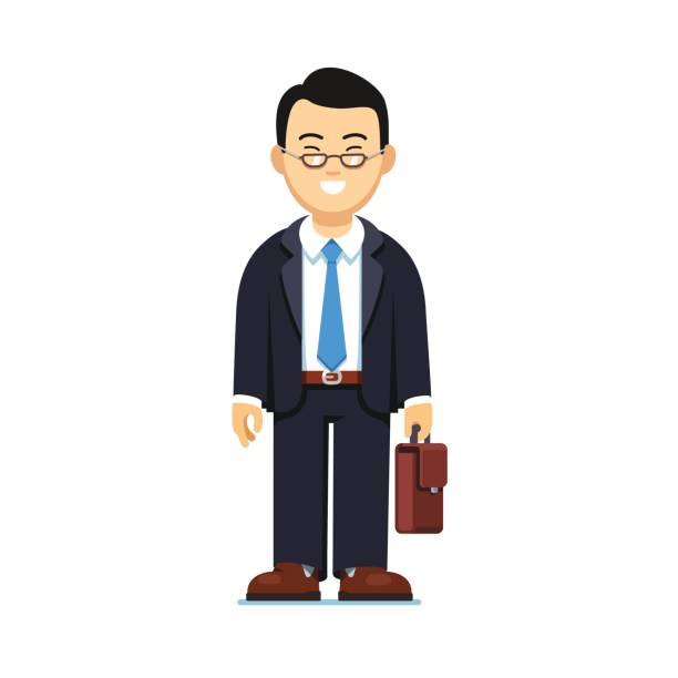 Best Chinese Businessman Illustrations, Royalty.