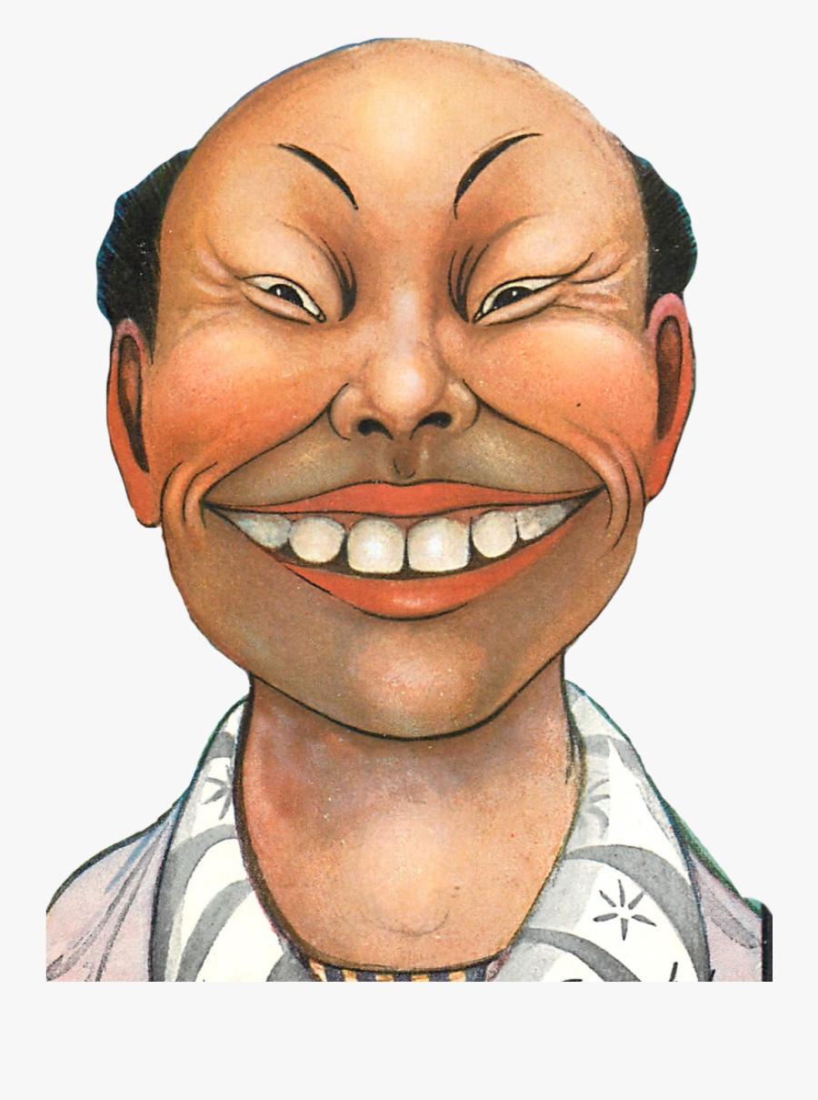 Transparent China Man Clipart.